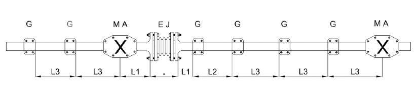 Eksenel Kompansatör Hesaplama Örnek
