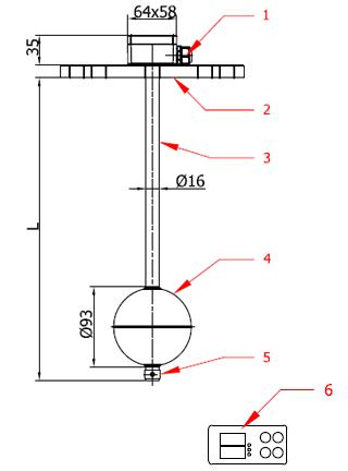 Level Sensors - Type KRS-111