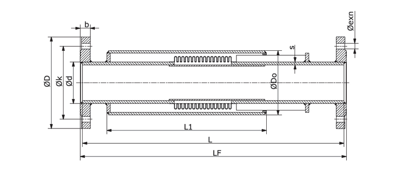 Kompansatör Merkezi Isıtma Teknik Resim